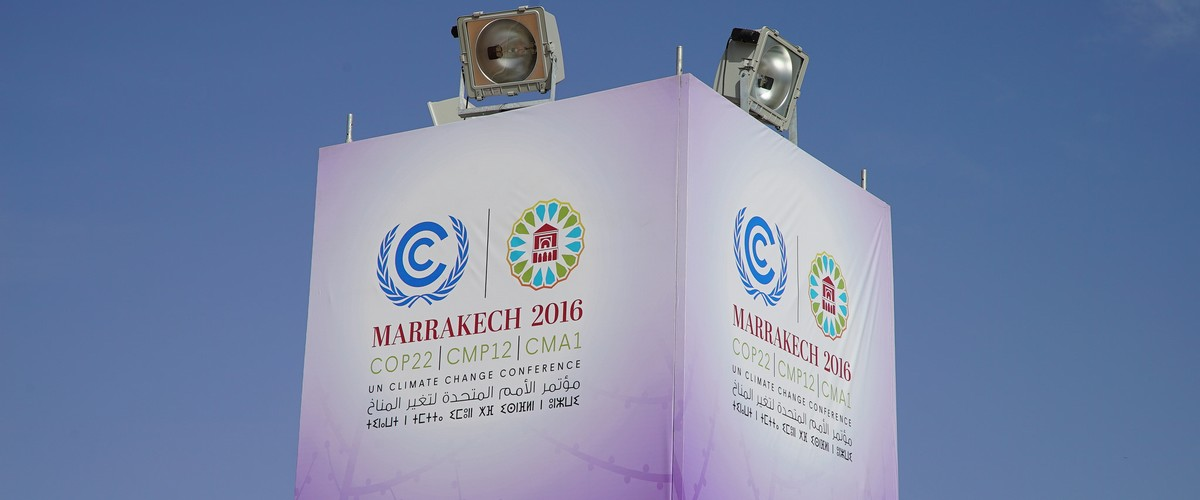 L'action climat au centre de la COP22 à Marrakech