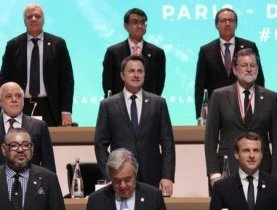 Xavier Bettel au One Planet Summit à Paris