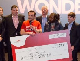 Wondermags remporte la première édition de « Pitch your Start-up » par Docler Holding