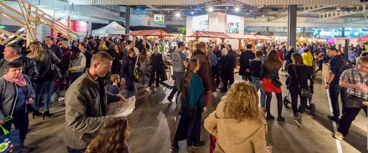 Springbreak Luxembourg, visiteurs, exposants, développement durable, innovation, événements écoresponsables, Luxexpo The Box, engagement sociétal et environnemental, ancrage local, associations, start-up, producteurs locaux