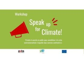 "environnement, atelier, ASTM , Klimabündnis Luxembourg, crise environnementale, workshop ""Speak Up for the Climate !"", question environnementale, impact direct, prendre la parole pour le climat"