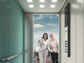 thyssenkrupp Elevator, new elevators feature, save energy, performance solution, synergy evolution, technology