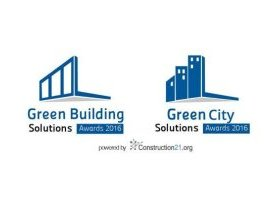 Green Building & City Solutions Awards : c'est parti pour l'édition 2016 !