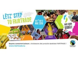campagne Fairtrade, Lëtz' Step to Fairtrade 2018, commerce équitable, actions, sensibilisation