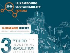 14 novembre : Luxembourg Sustainability Forum 2016