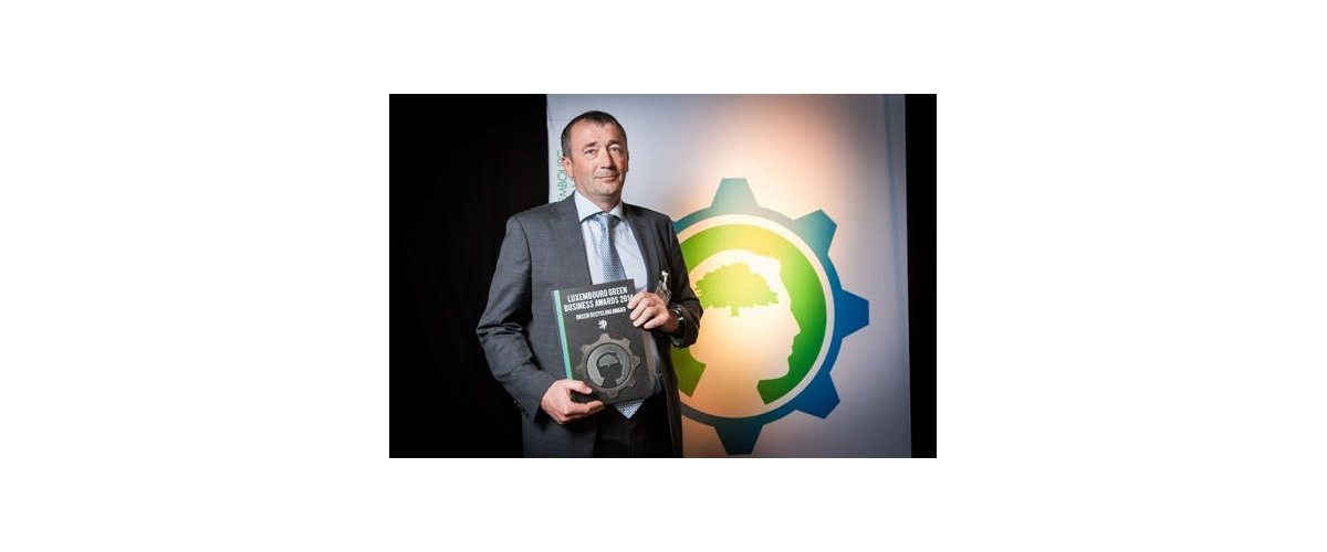 LAMESCH S.A. lauréat du Green Recycling Award