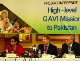 Immunisation leaders call for increased political support for immunisation in Pakistan
