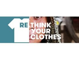 event, pièce de théatre, industrie textile, campagne Rethink your Clothes, Caritas, Fairtrade