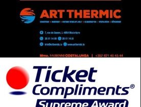 Art Thermic adhère à Ticket Compliments
