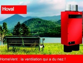 Homevent, la ventilation domestique intelligente !
