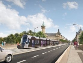 Tramway Luxembourg - LuxTram