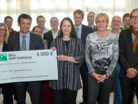 Le Groupe BNP Paribas Luxembourg soutient l'association ZAK !