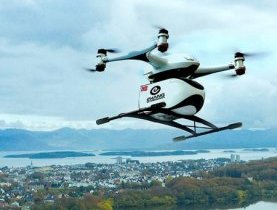 Luxmobility, potential of drones, air-mobility, to make urban air mobility safe secure quiet and green