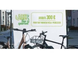 prime, mobilité douce, vélos, pedelec25, promotion mobilité douce, environnement, développement durable, éligibilité, campagne Clever fueren - Sue spueren, conditions d'optention
