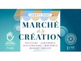 event, solidarité, Marché de la Création, artiste, 100% made in Luxembourg, dons, handicap international, Marché de la Création, Vente d'œuvres d'art, Jacques Schneider, charity night