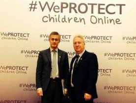 Félix Braz au sommet We PROTECT Children Online à Londres