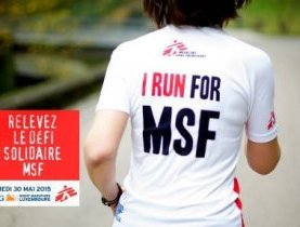 DÉFI SOLIDAIRE MSF lors de l'ING Night Marathon Luxembourg !