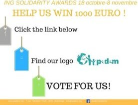 We are looking for you !!! Vote for us !