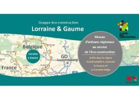 La Grappe Eco-construction - Lorraine&Gaume au salon Bati+