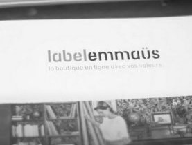 Label Emmaüs, un e-shop solidaire français