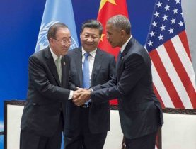 Climat : le Chef de l'ONU salue la ratification de l'Accord de Paris par la Chine et les États-Unis