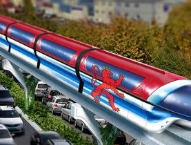 Monorail pour le Luxembourg