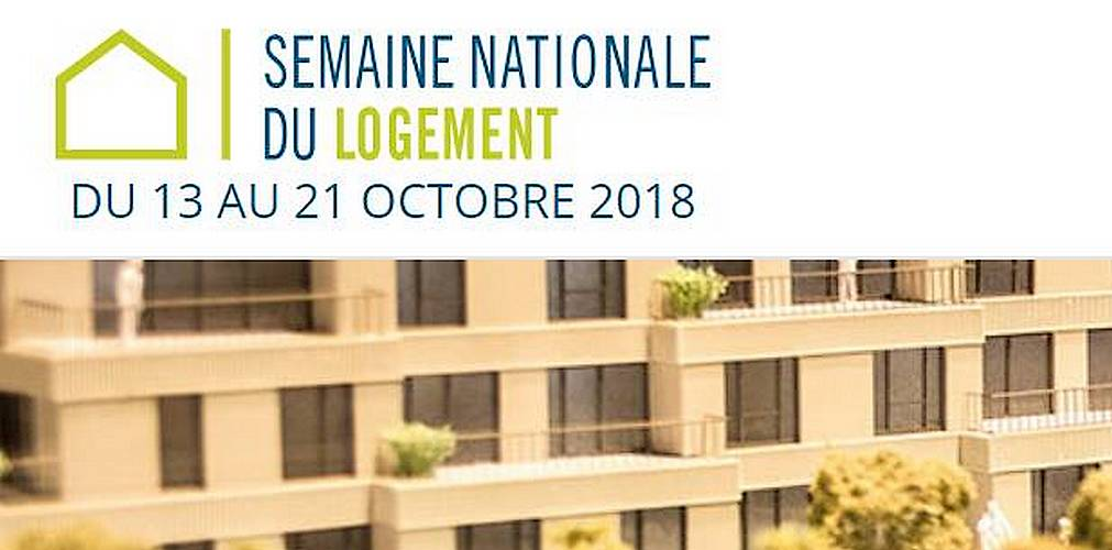 Event, semaine nationale du logement, Fonds du logement, construction, rénovation, habitat