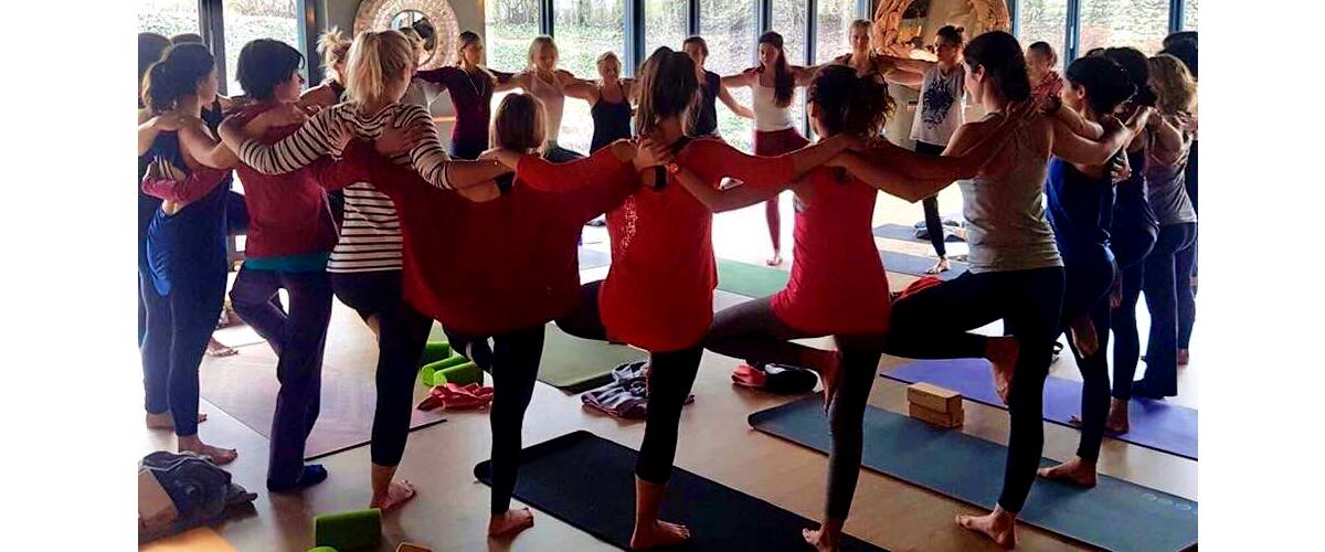 Thanksgiving, Charity Yoga, Iles de Paix Luxembourg, event, yoga