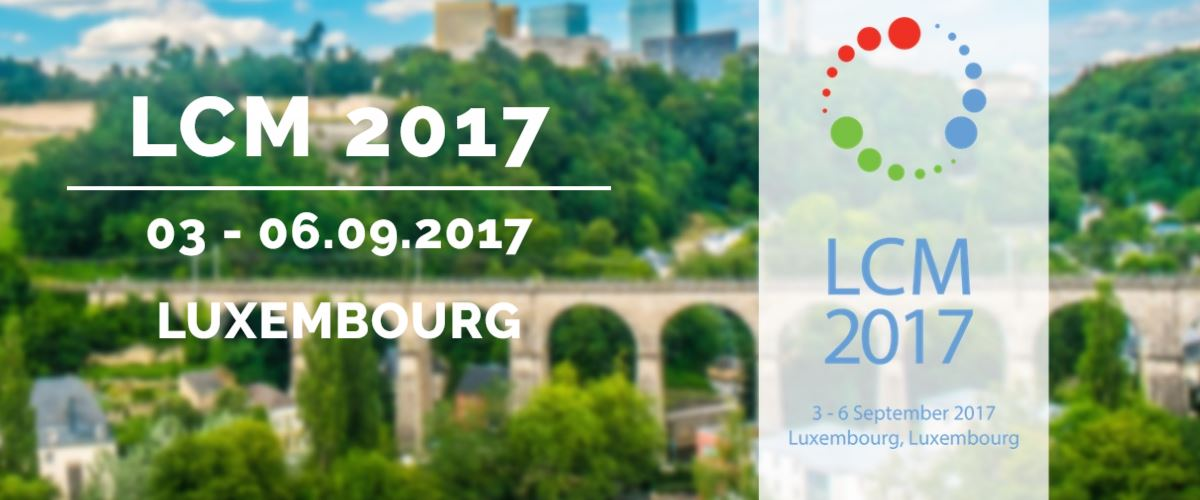 Life Cycle Management 2017 Luxembourg, 3 - 6 September, 2017