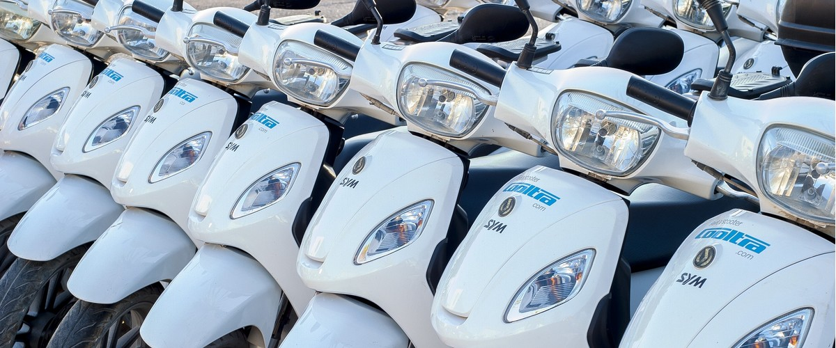Après le carsharing, voici le scooter sharing !