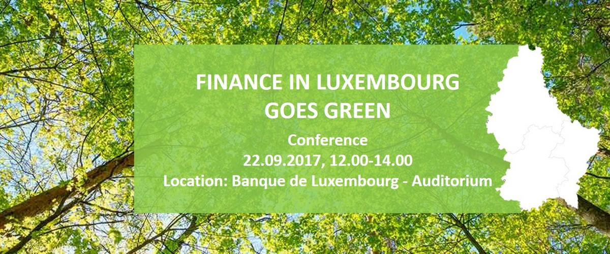 Finance in Luxembourg goes green