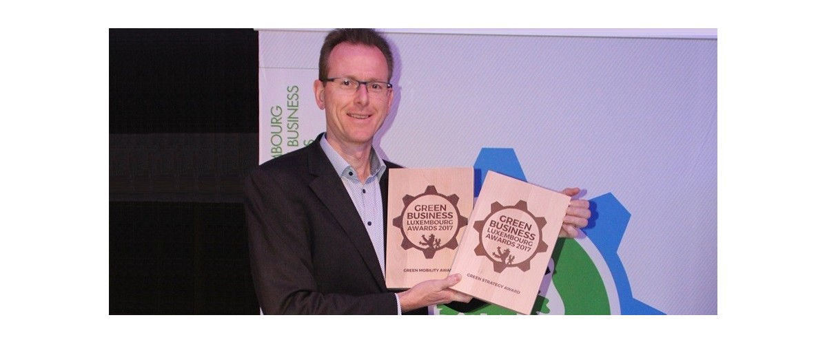 Sales-Lentz récompensé par le Green Mobility Award et le Green Strategy Award