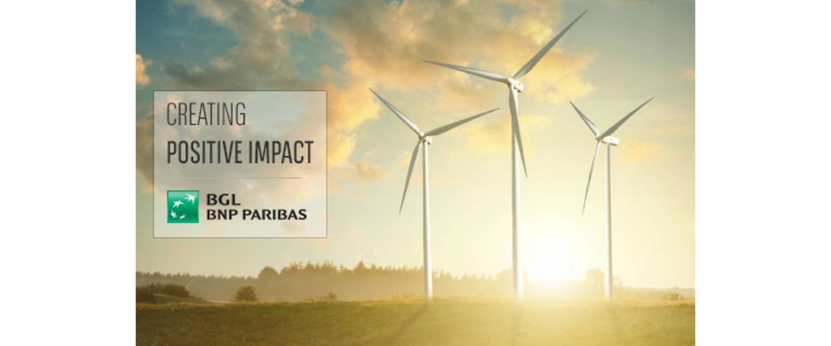 The sustainable finance, BGL BNP Paribas, financing activities, sustainably