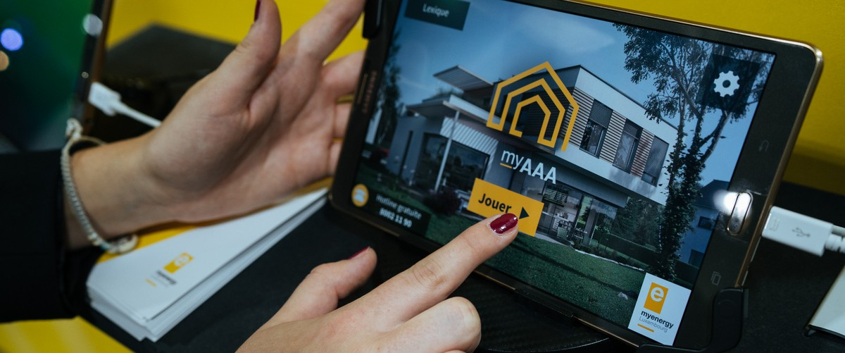 myAAA, l'application myenergy pour smartphones et tablettes